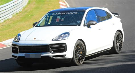 2021 Porsche Cayenne Coupe GT Spied – Or Is It The GTS