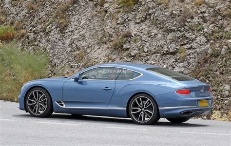 2020 Bentley Continental GT Plug-In Hybrid Spied Without
